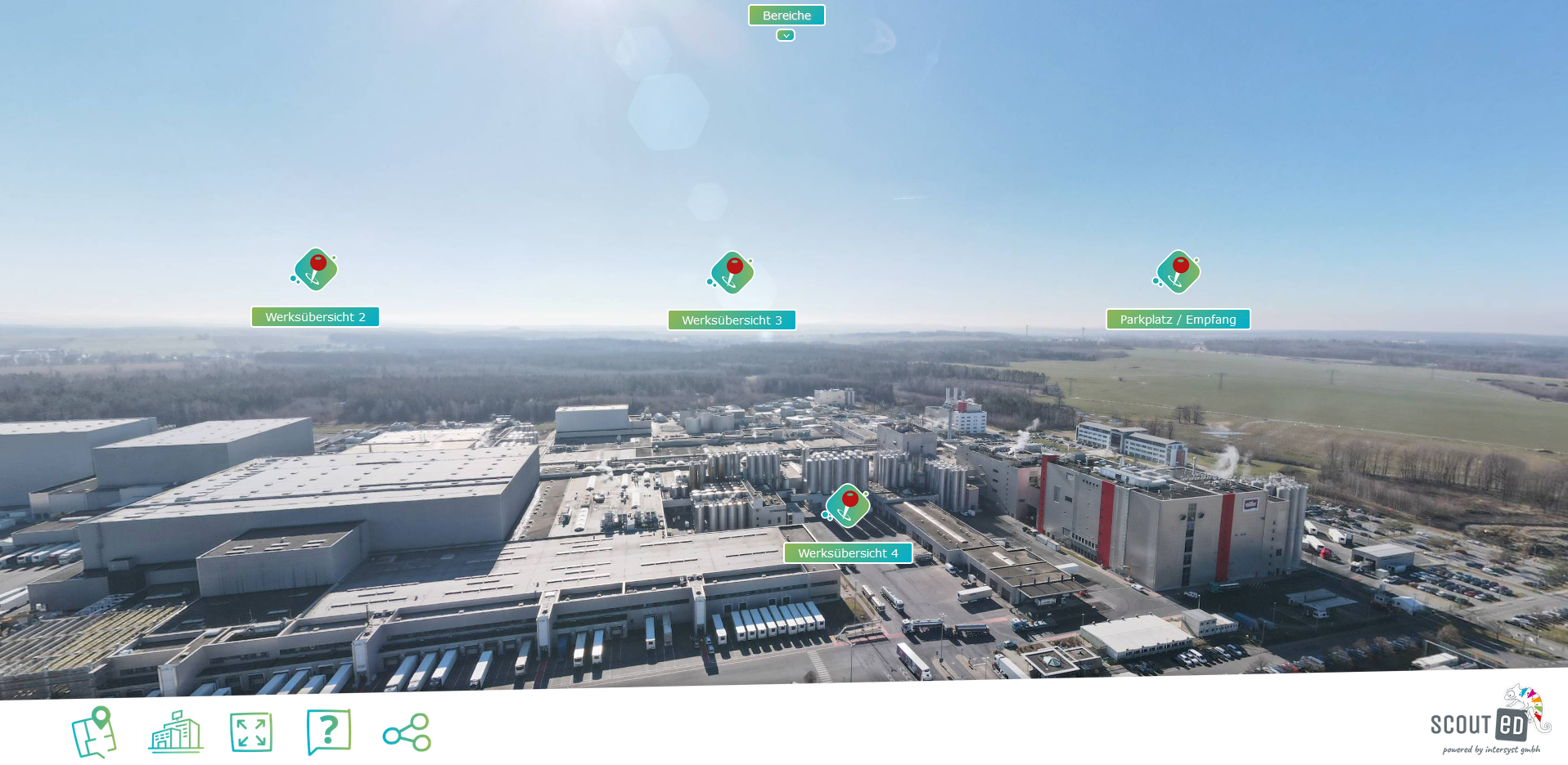 360° interaktiver Rundgang - Sachsenmilch