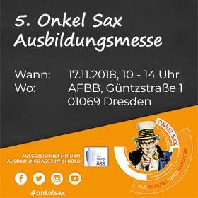 5. Onkel Sax Ausbildungsmesse